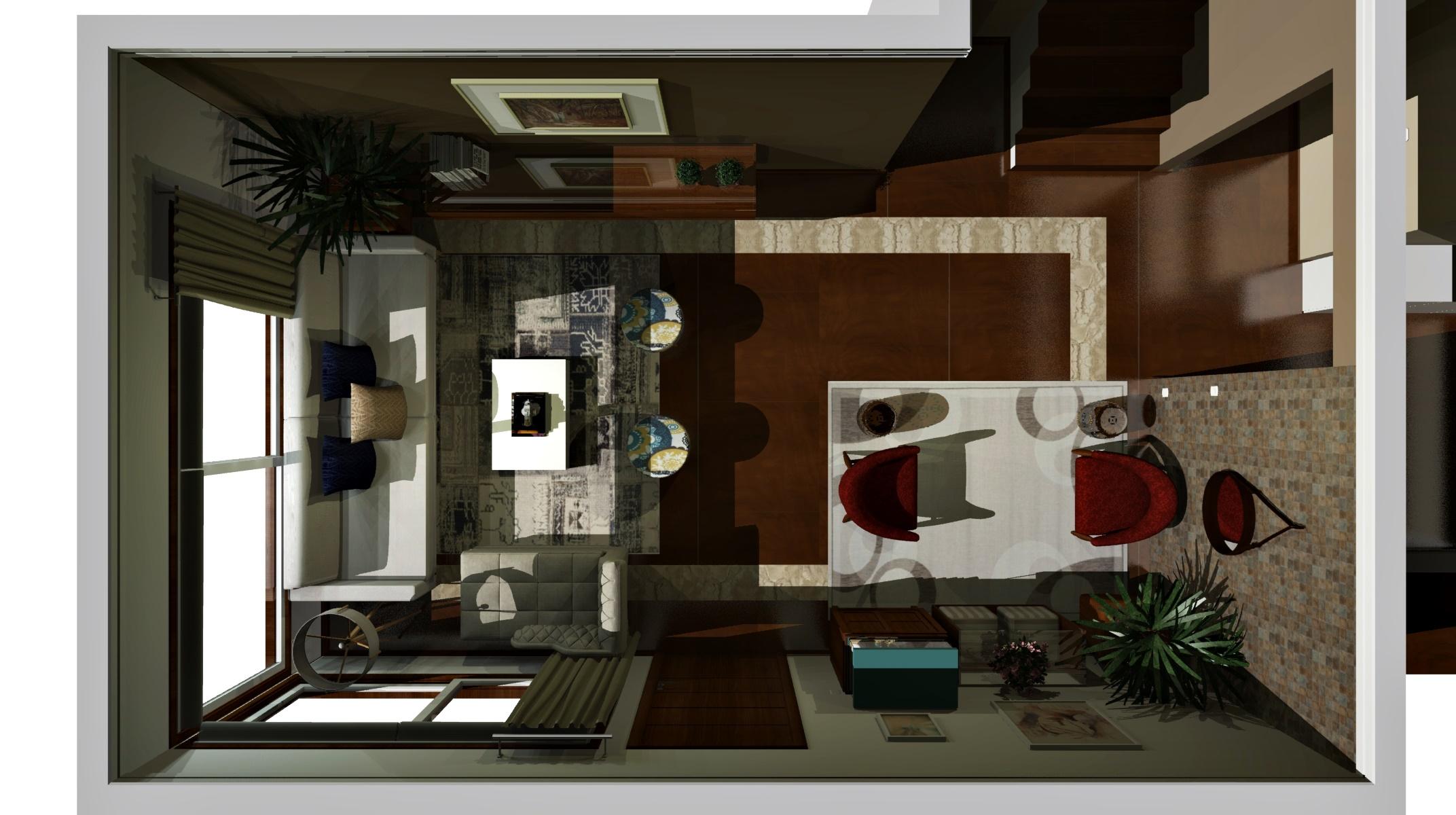 Sala de estar estilo Aconchegante Cool