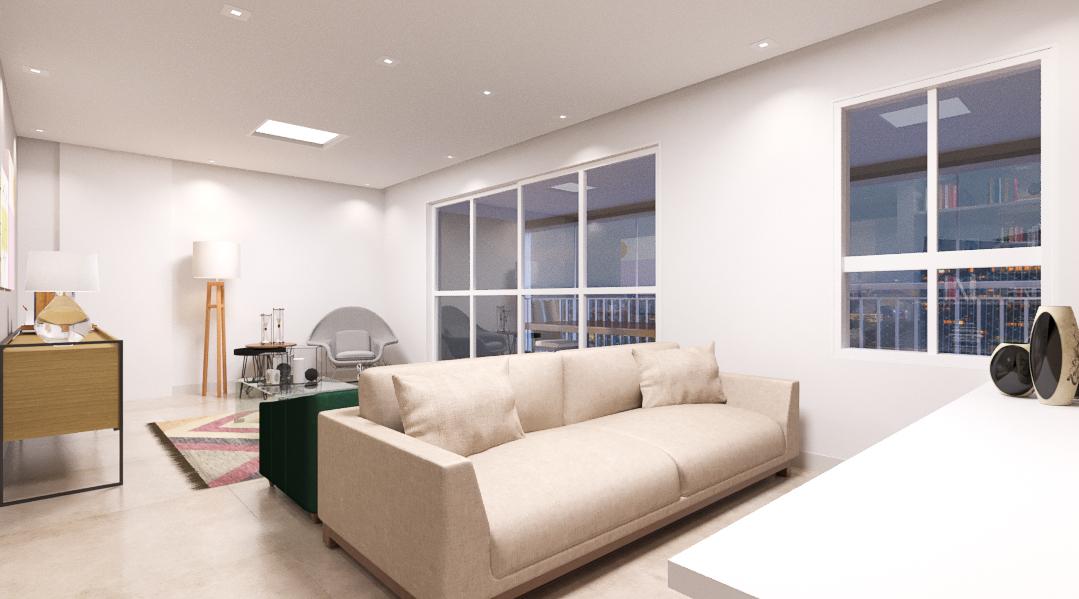 Sala de estar estilo Minimalista