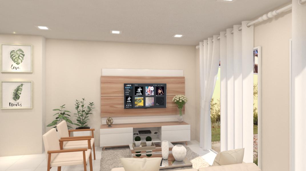 Sala de estar estilo Moderno sofisticado Clássico