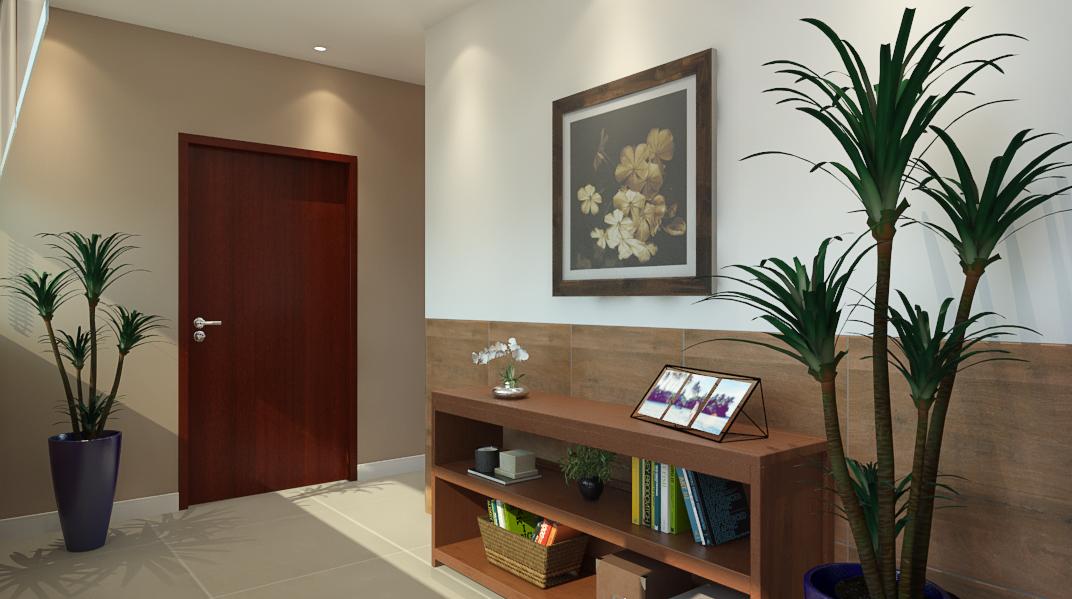 Sala de estar estilo Aconchegante Minimalista