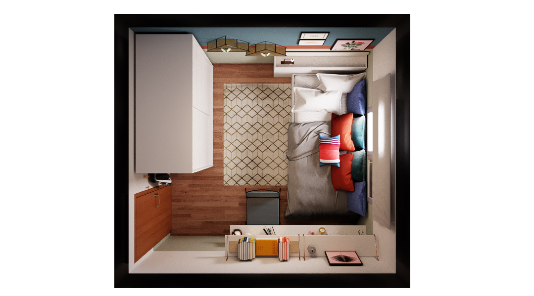 Quarto estilo Divertido Cool