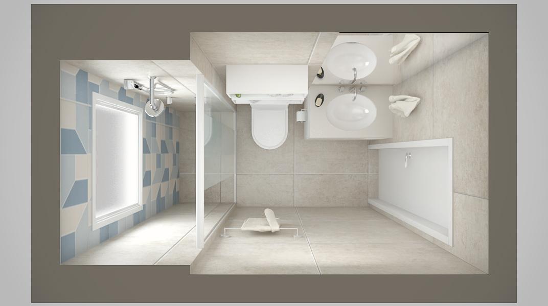 Banheiro estilo Moderno sofisticado Aconchegante