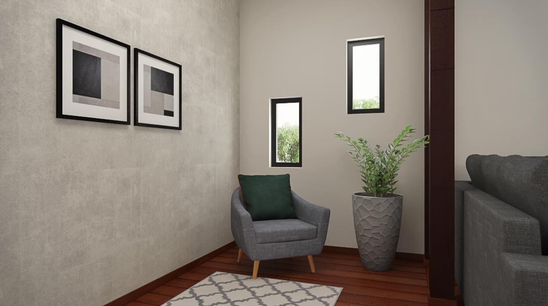 Sala de estar estilo Industrial Rústico