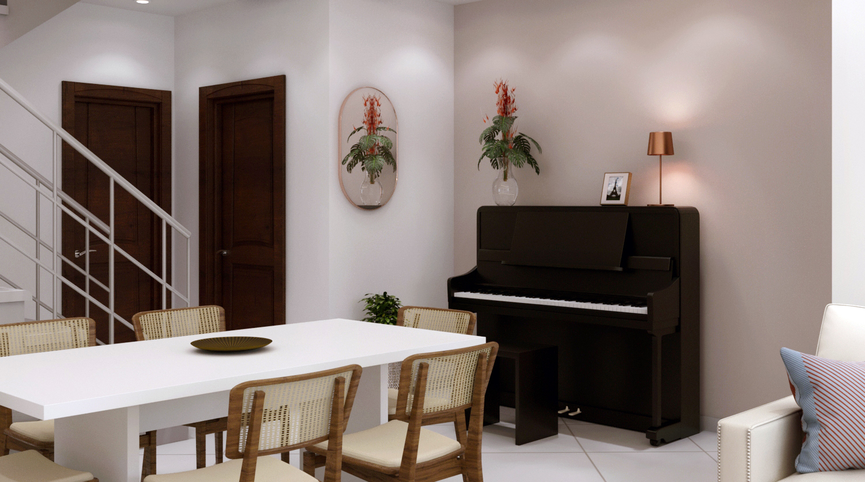 Sala de Jantar estilo Aconchegante