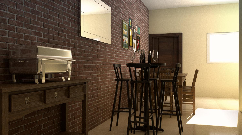 Cozinha estilo Rústico