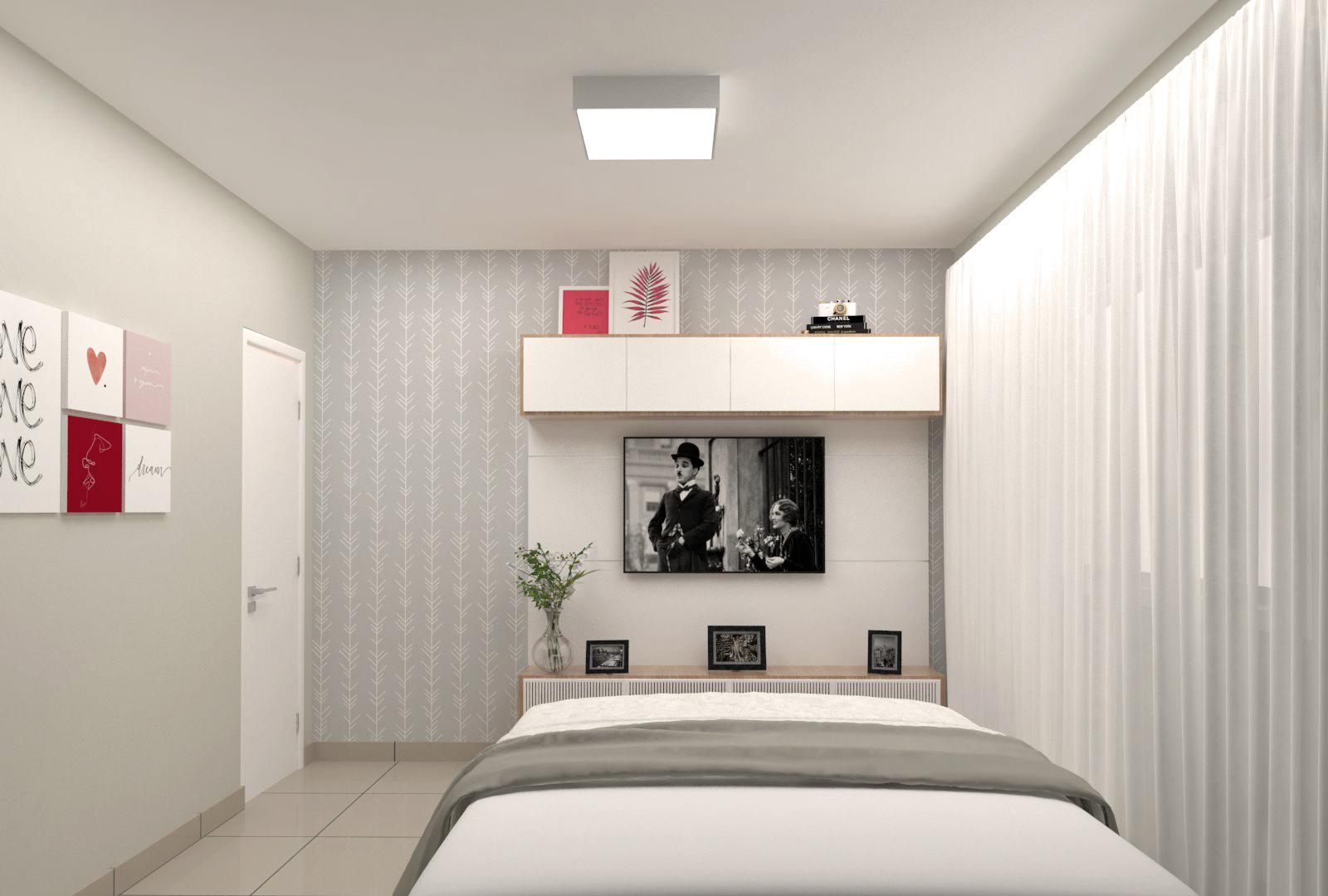 Quarto estilo Moderno sofisticado Moderno prático