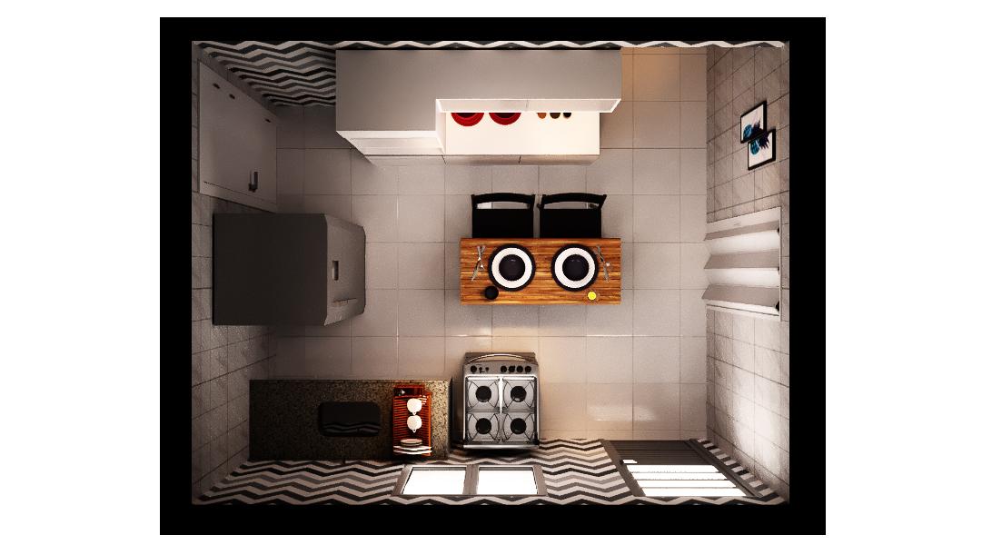 Cozinha estilo Industrial Cool