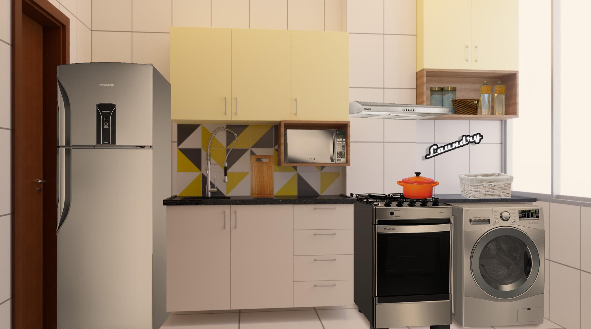 Cozinha estilo Moderno sofisticado Minimalista