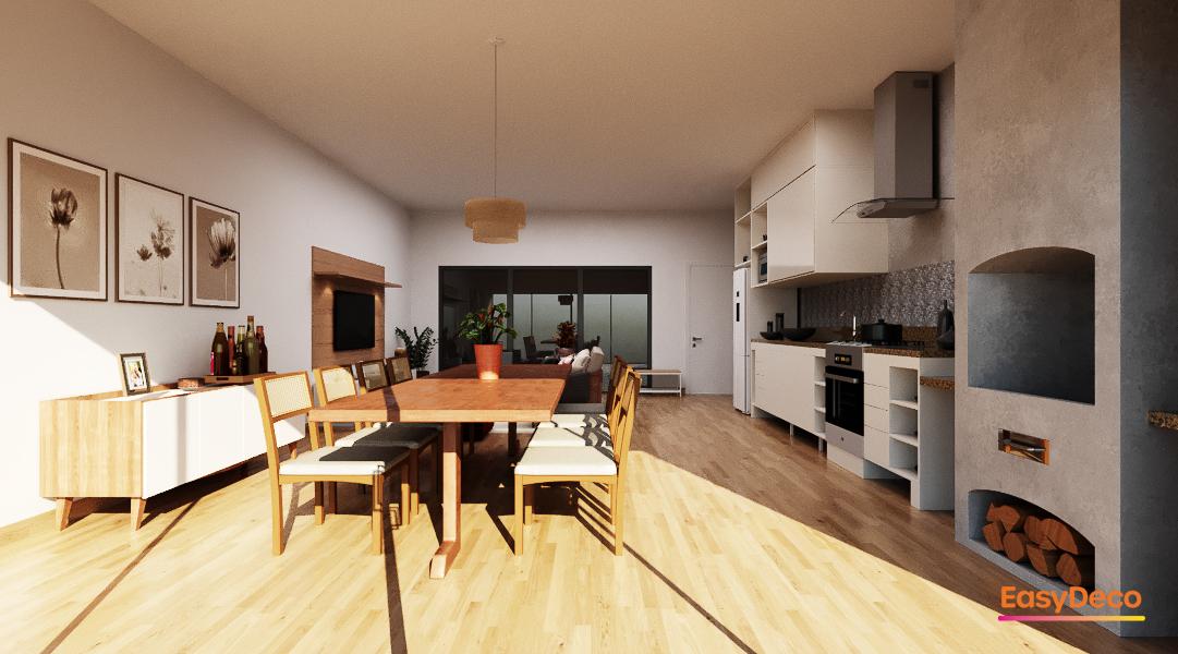 Cozinha estilo Moderno sofisticado Aconchegante