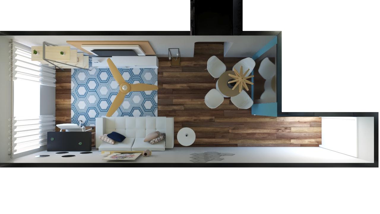 Sala Integrada estilo Cool