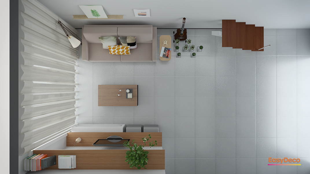 Sala de estar estilo Divertido Cool