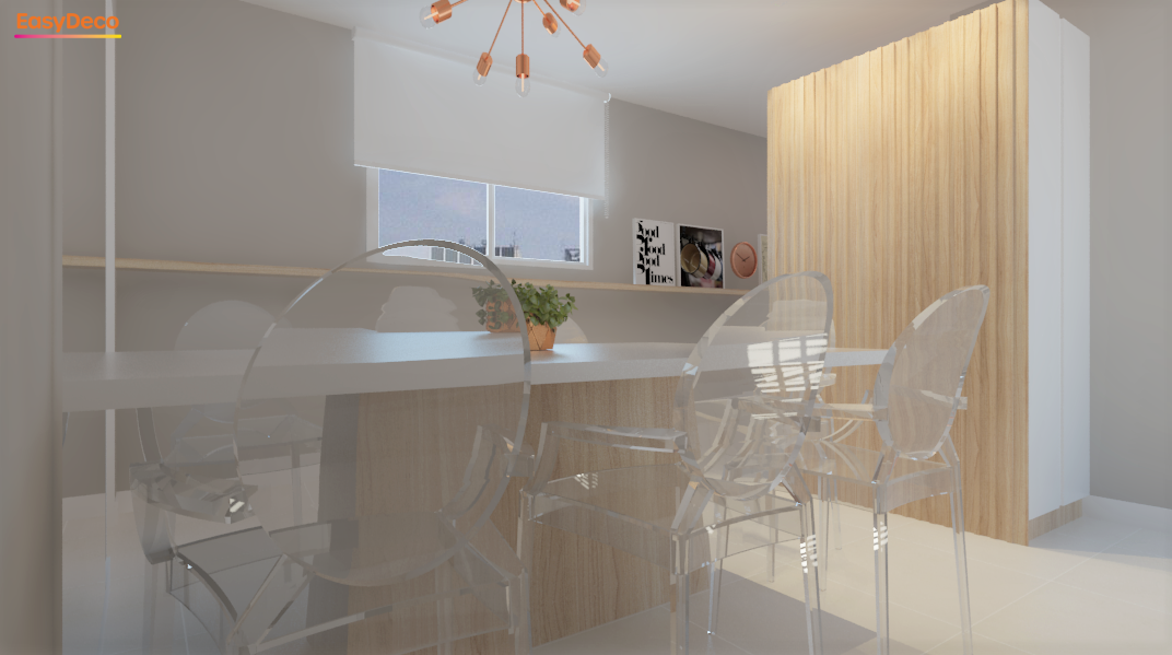 Cozinha estilo Moderno sofisticado Clássico